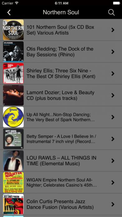 Official Northern Soul App screenshot three