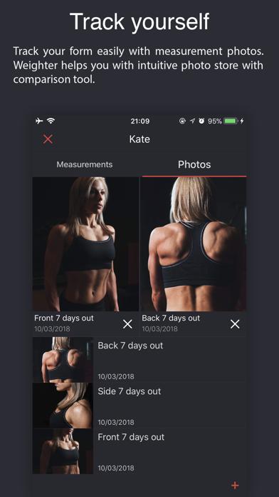 Weighter: Gym notes & progressのおすすめ画像6