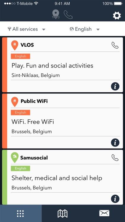 RefAid - Refugee Aid App screenshot-4