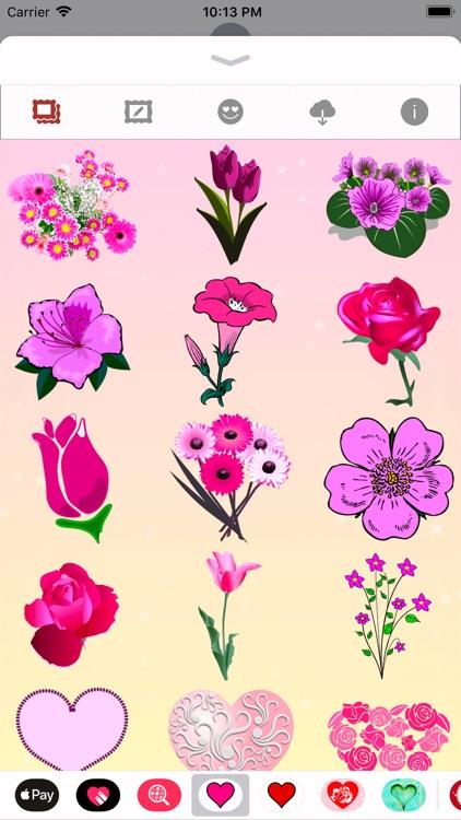Pink Love • Emoji and stickers screenshot-3