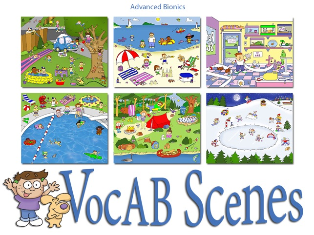 VocAB Scenes Screenshot