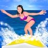 波をサーフィン、史上最も困難な夏のゲーム - 無料版