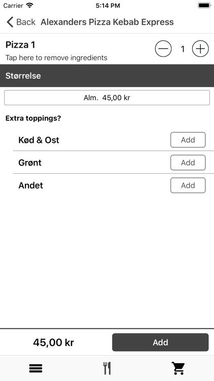 Alexanders Pizza Express Vejle screenshot-4
