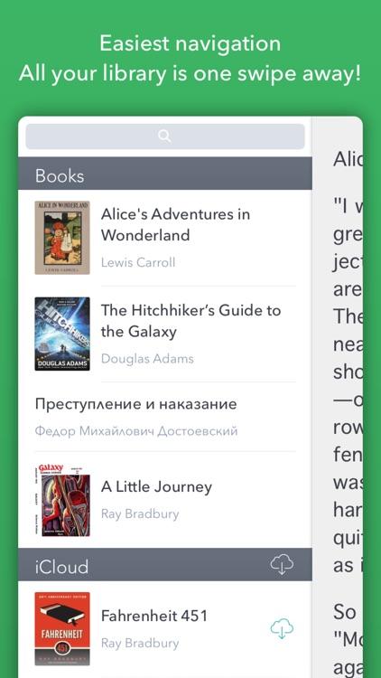ePub reader Bukus. Read best ebooks with joy!