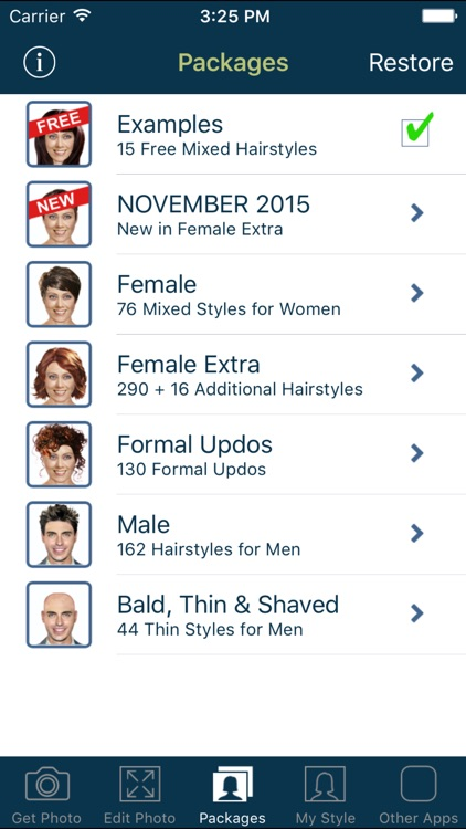 Hairstyle Try On screenshot-4