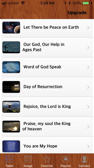 Christian Song screenshot one