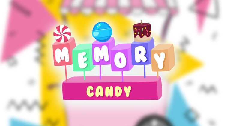 Candy Memory Game for kids
