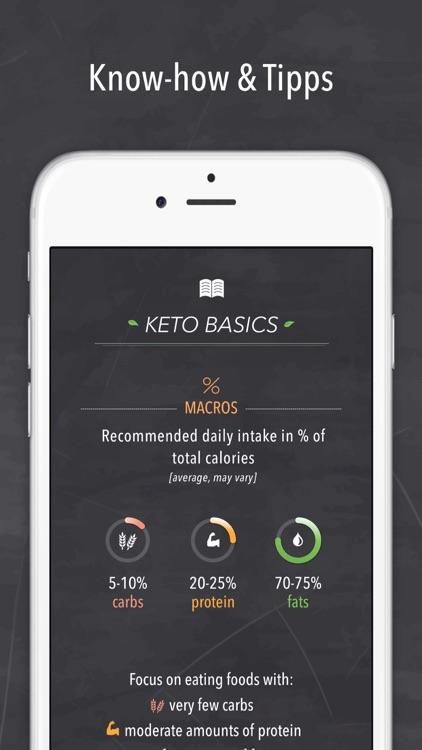 Keto diet & Ketogenic recipes screenshot-4