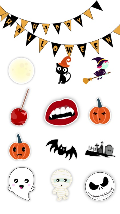 Enjoy Halloween Stickers screenshot-1