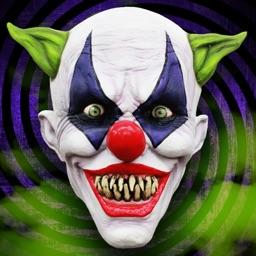 Horror Clown Photo Stickers