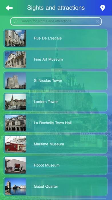 La Rochelle Tourism screenshot