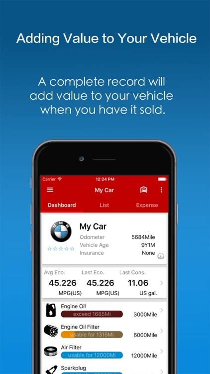 iKnow99 Car Aide - Car Manager