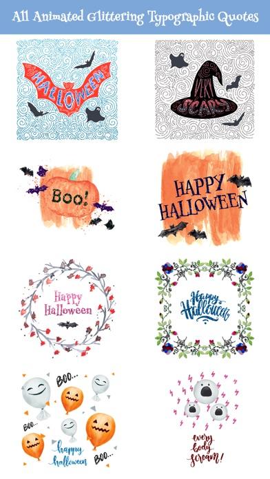 Halloween Glittering Quotes screenshot 2