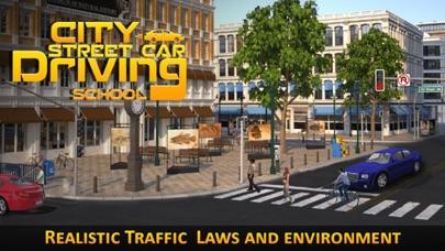 City Street Car Driving screenshot one