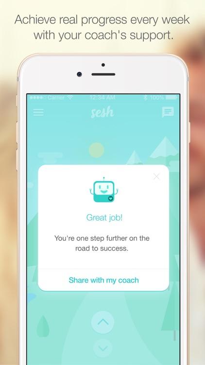 Sesh- Life coach & executive performance coaching screenshot-3