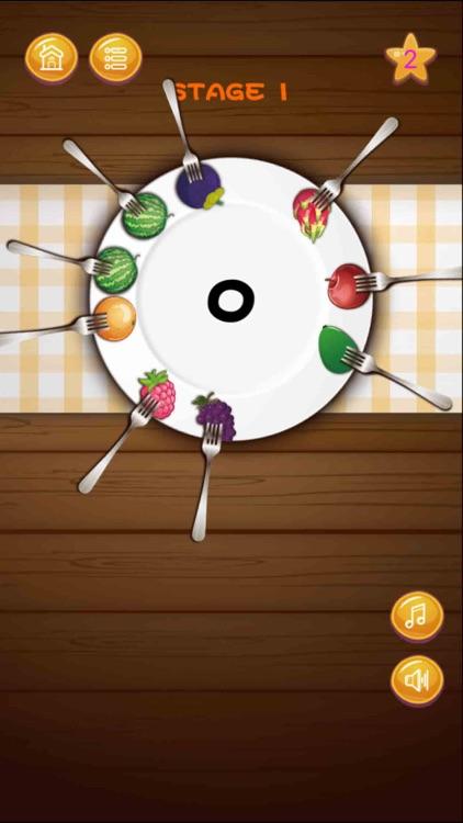 Fork Fruit Rotate Frontier screenshot-0