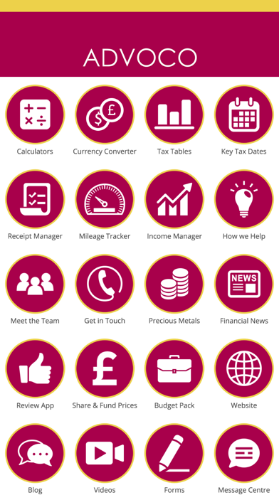 Advoco Accountants screenshot two