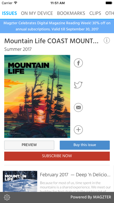 Mountain Life COAST MOUNTAINS screenshot 1