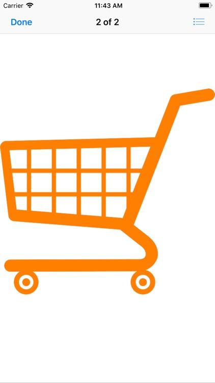 Shopping Cart Stickers screenshot-4