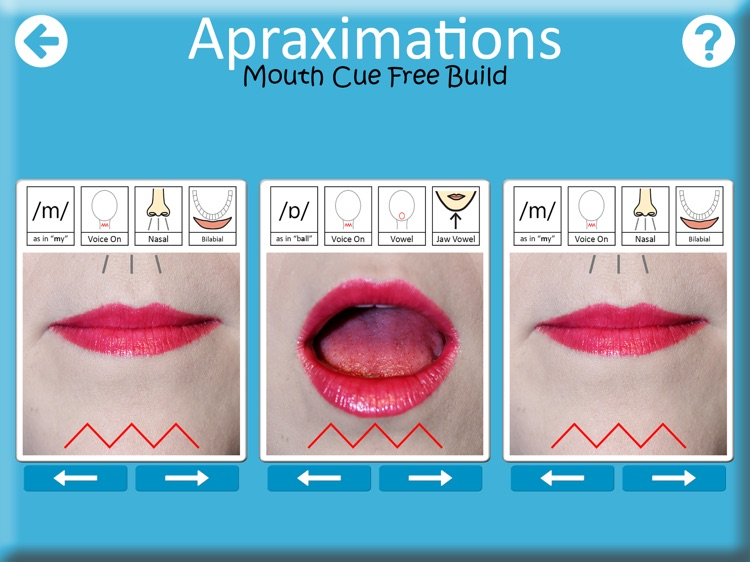 Apraximations - Mouth Cues screenshot-3