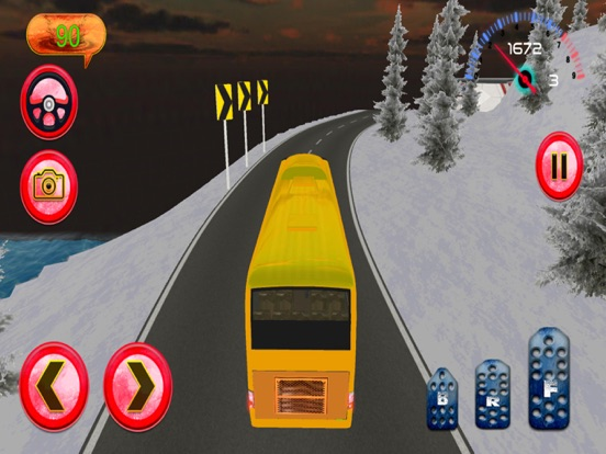 Hill Bus Driver 3d 2017 Mania screenshot 9