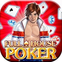 Full House Poker - 1v1, on-line tournaments, vegas championship arena