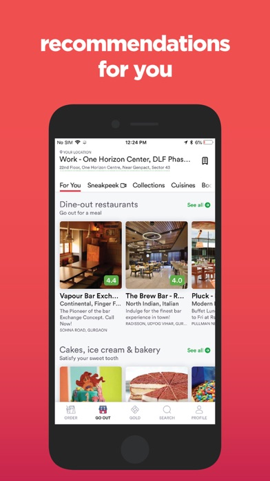 Zomato - Food & Restaurants Preview 1