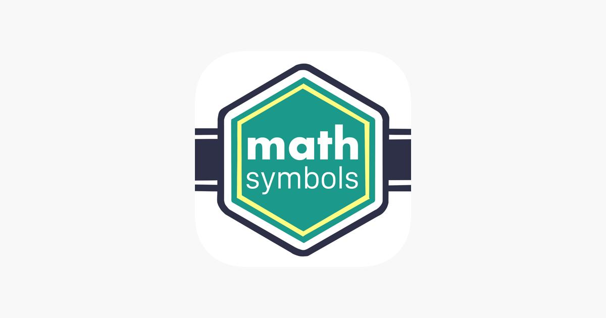 Math Symbols On The App Store