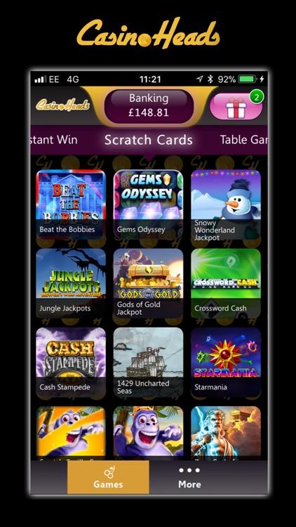 CasinoHeads Real Money Casino screenshot-4
