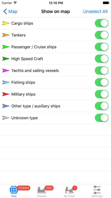 VesselFinder Pro screenshot1