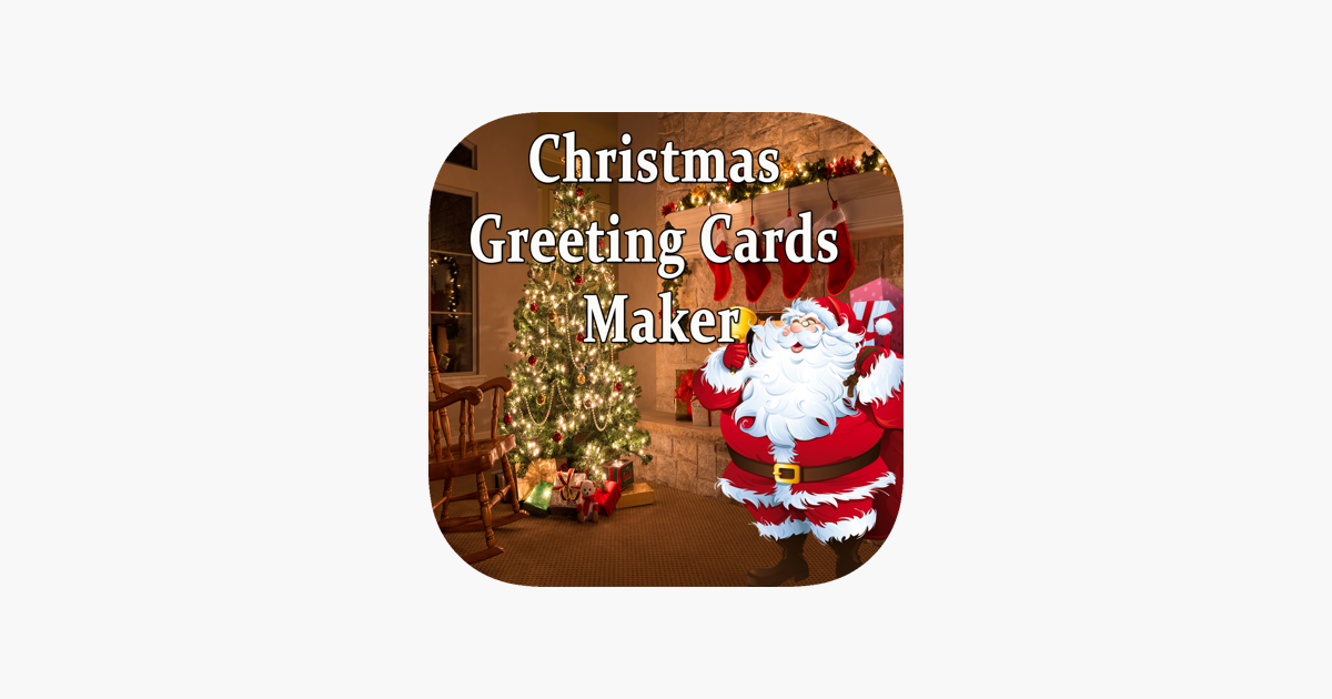 Christmas Greeting Cards Maker Booth For Wishes on the App Store