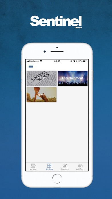 Image of Sentinel News for iPhone