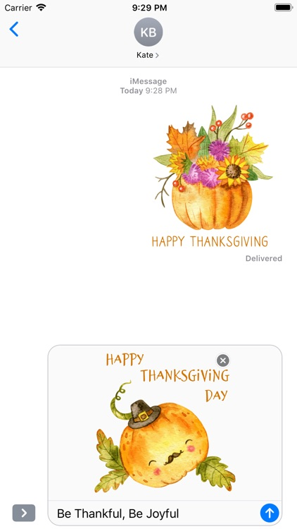 Thanksgiving Watercolor Pack screenshot-4