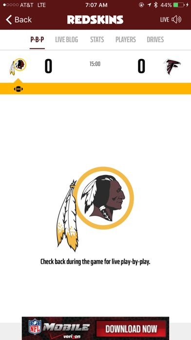 Washington Redskins iPhone