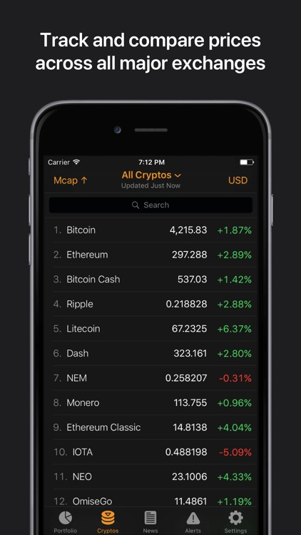 Crypto Pro: Bitcoin Ticker screenshot-2