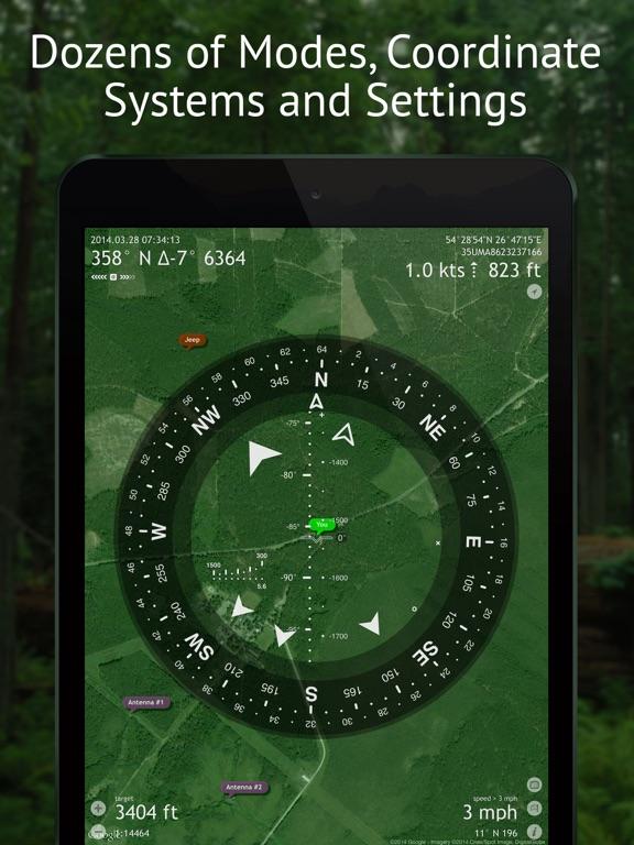 Screenshot #2 for Commander Compass Go