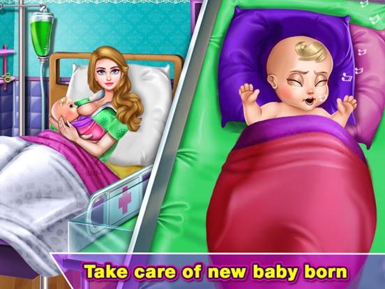 Pragnant Mermaid Care Newborn screenshot 7