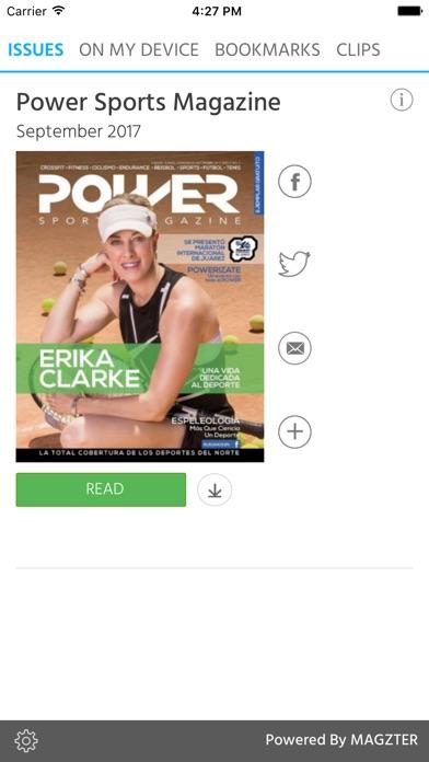 Power Sports Magazine screenshot 1
