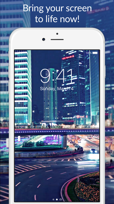 Live Wallpapers for Me. Screenshot