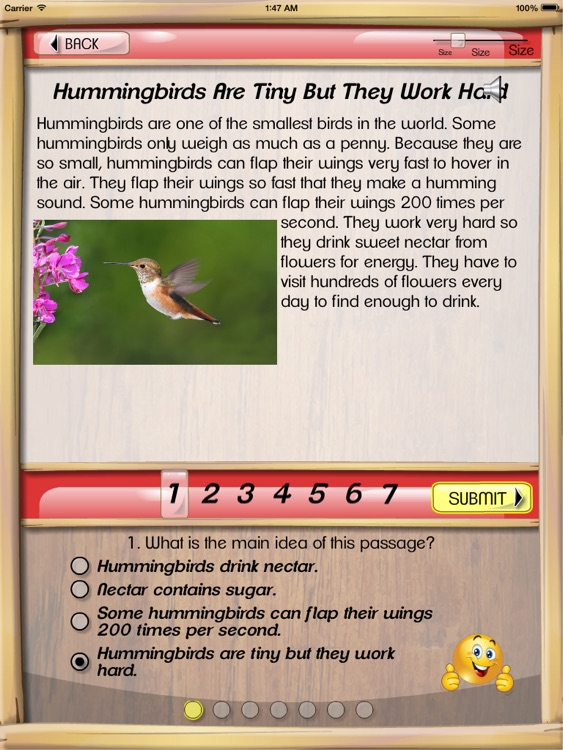 Kids Reading Comprehension screenshot-2