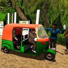 Activities of Cycle Rickshaw Driving