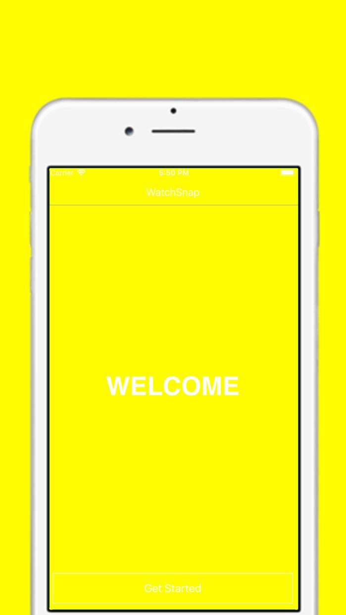 WatchSnap - Watch for Snapcode Screenshot
