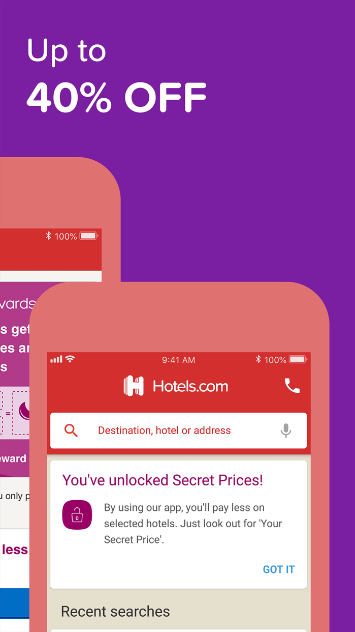 Hotels.com: Book your hotel Screenshot