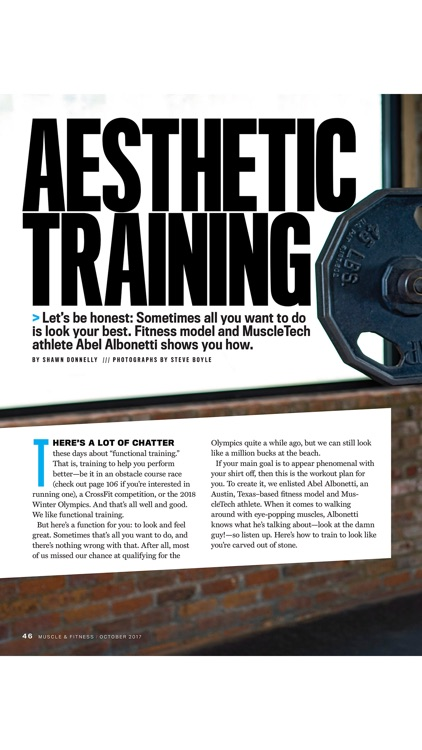 Muscle & Fitness Magazine screenshot-3