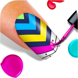 Nail Art Color by Number