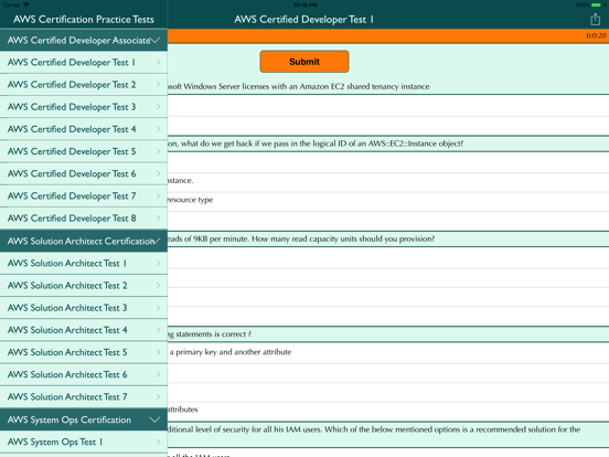 AWS Certification Practice | App Price Drops