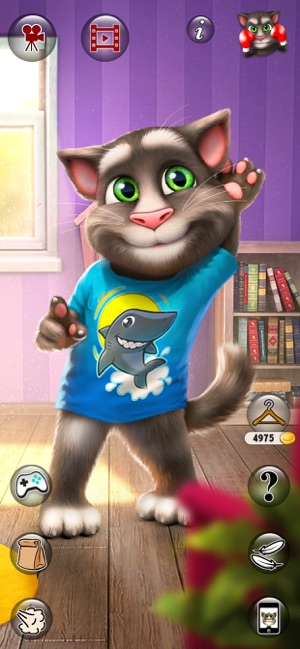 Take care of Talking Tom in this fun virtual pet game