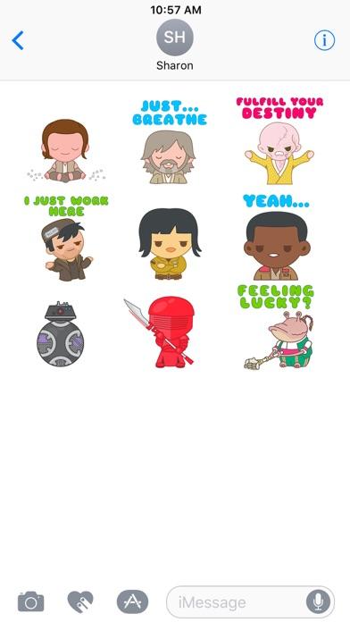 The Last Jedi Stickers screenshot 2