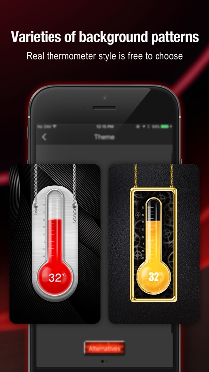 Thermometer & Hygrometer - weather widget