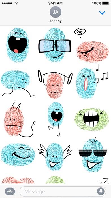 Fingerprint Me Stickers!のスクリーンショット3